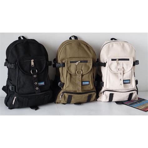 Backpack Tas Ransel tas ransel backpack multi slot black jakartanotebook