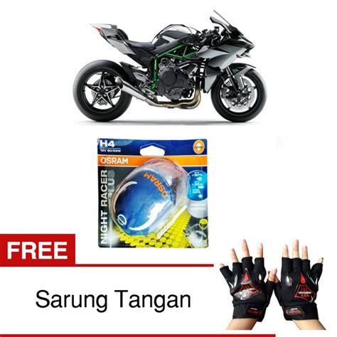 Harga Sarung Tangan Motor Murah by Jual Osram H4 Lu Motor Kawasaki H2 Low High Beam
