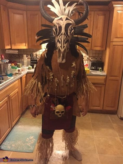 tribal warrior costume