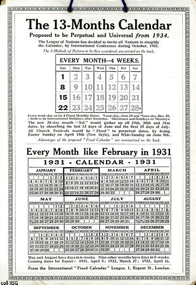 Calendario Kodak El Calendario Kodak