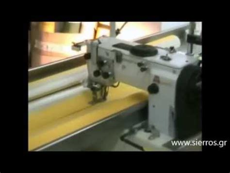 awning sewing machine sierros bros matic hercules awning sewing station with