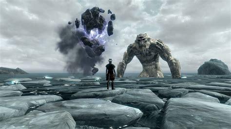 Skyrim : un mod avec des monstres géants Giant Sea Monster Skyrim