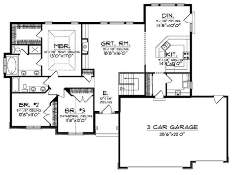 Best One Story Floor Plans by Best Ranch Style House Plans For Easy Living House