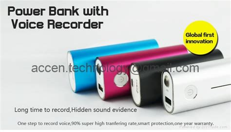 Power Bank Advance Digitals power bank voice recorder 4000mah 120 hours recording 260 hours led flashlight ace yt30 ace