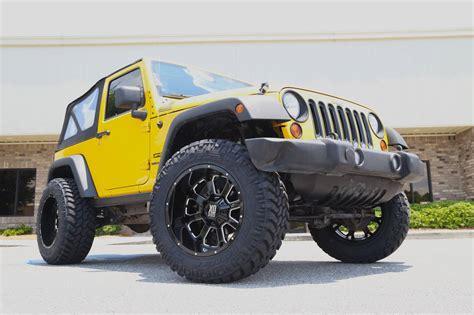 jeep xd wheels lifted 2011 jeep jk on kmc buck wheels trinity motorsports