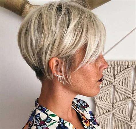 bi layer haircuts over the ears coupes de cheveux courtes en couches vous allez adorer