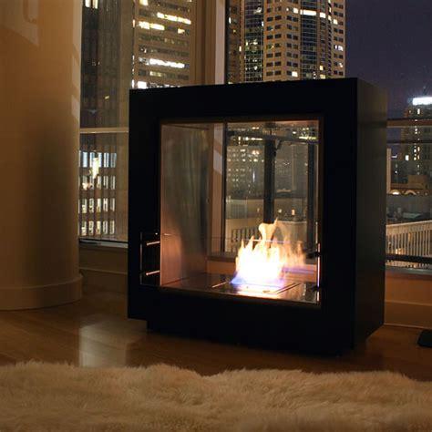 Ventless Modern Fireplace by Ecosmart Fusion Ventless Designer Fireplace Stardust