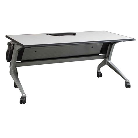 Coalesse Table by Steelcase By Coalesse Used Table Gray