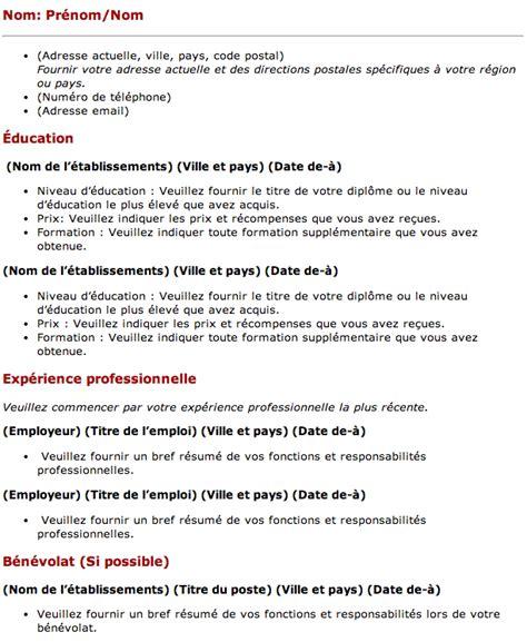 Pr Sentation Lettre De Demande D Emploi demande d emploi r 233 union employment application