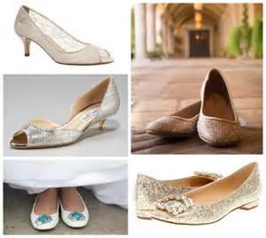 Scarpe da sposa a tacco basso   Trashic
