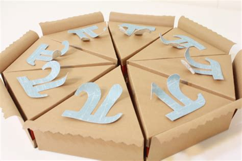 How To Make A Paper Pie - paper pie gift boxes for pi day tally s treasury