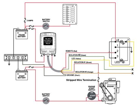 rv isolator wiring diagram rv battery wiring to vehicle