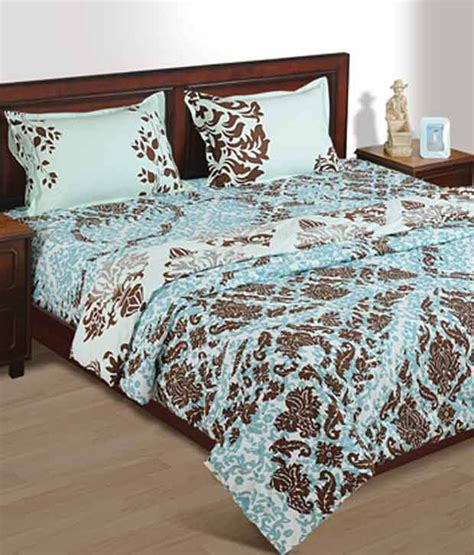 blue damask comforter house this floral damask print double bed comforter blue