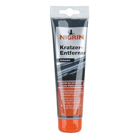 Politur Kratzer Schwarz by Nigrin Kratzer Entferner Geeignet F 252 R Schwarze Lacke
