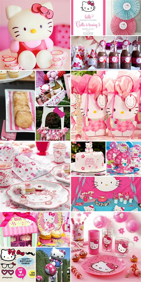 themes for a kitty party hello kitty party theme
