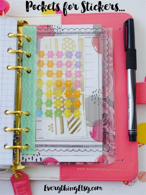 Handmade Planners - diy planner paper pretty planner ideas