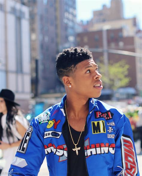 empire hakeem hair design empire s bryshere gray at fashion week armenyl