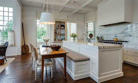 ideas for kitchen islands with seating beautiful kitchen islands with bench seating designing idea