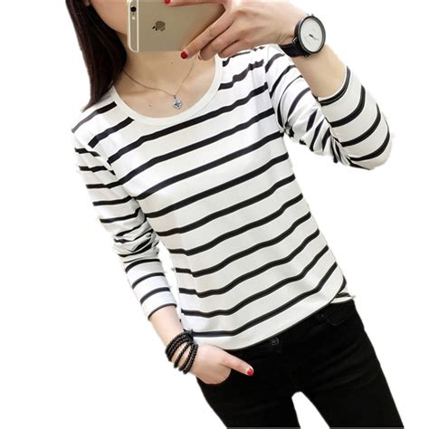 Stripped Longsleeve 3 2017 Striped Shirt Sleeve Black And White Stripes T