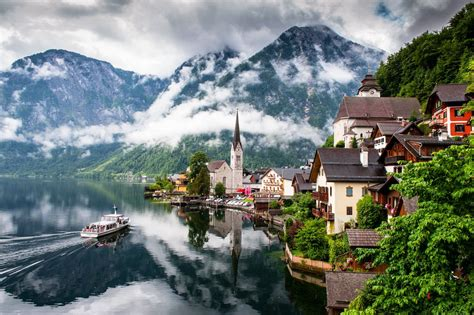 hallstatt austria top hallstatt salzkammergut austria photo wallpapers
