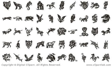 tattoo of animal symbols tribal animal tattoos ink pinterest animal tattoos
