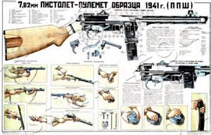 ppsh 41 submachine gun poster russian legacy