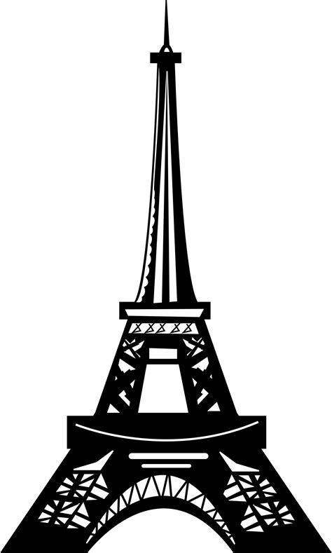 eiffel tower clipart eiffel tower silhouette png clipart best