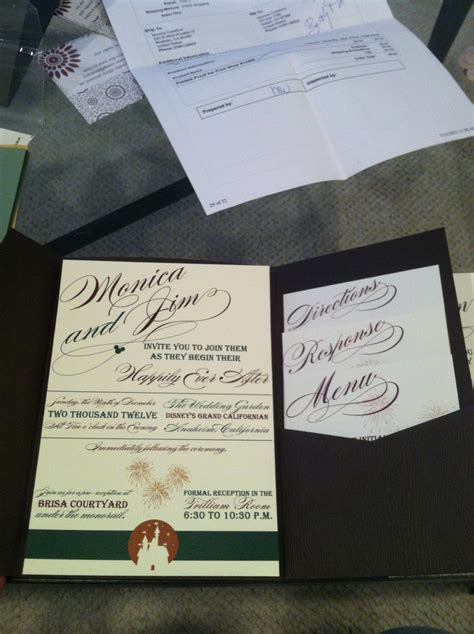 sending wedding invitations to disneyland 109 best disney wedding invites images on