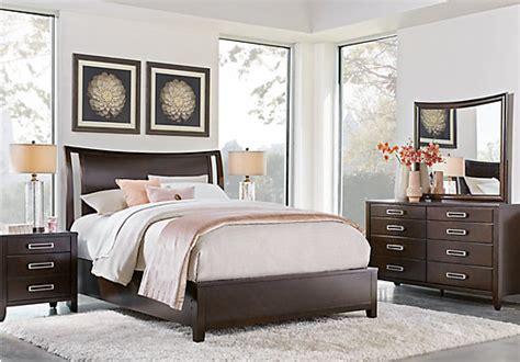 bellissimo bedroom set bellissimo java dark brown 7 pc king sleigh bedroom