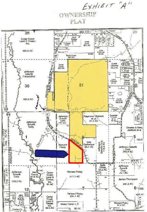 Escambia County Records Property 62 Acres In Escambia County Alabama