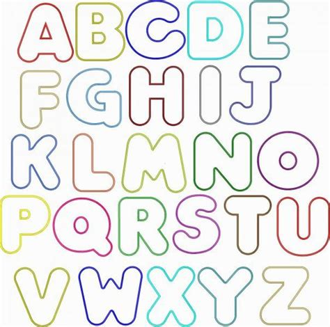 printable big fonts resultado de imagen para bubble fonts ideas pinterest