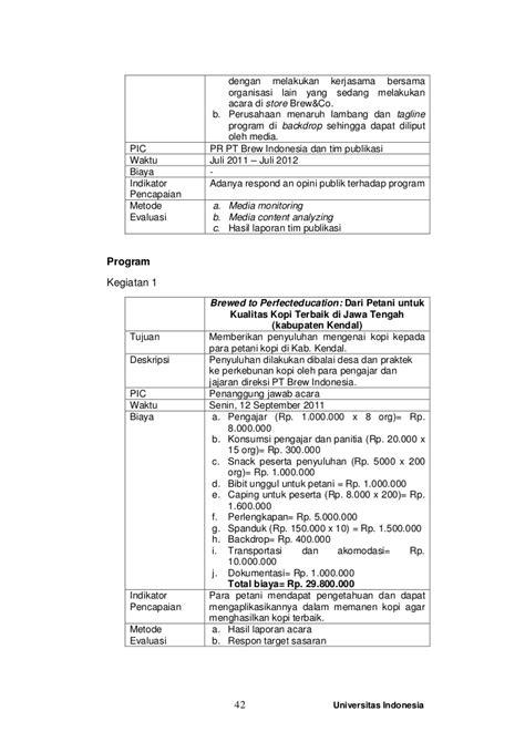format laporan ui tugas karya akhir program pr internal dan eksternal