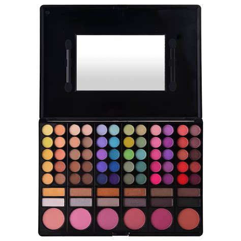 Pallete 78 Colour eye shadow blush palette 78 color shany cosmetics