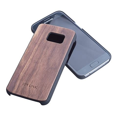 Samsung Galaxy S7 Edge Black Matte Casing Slim Soft joylink samsung galaxy s7 edge real wood non slip rubber bumper slim matte 5 1 quot for galaxy