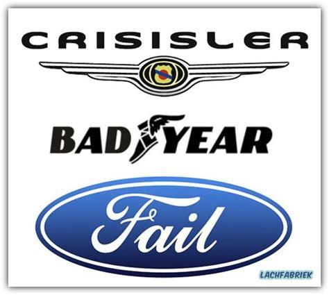 Auto Logo Nl by Nieuwe Logo S Voor Ford Chrysler En Year Lachfabriek