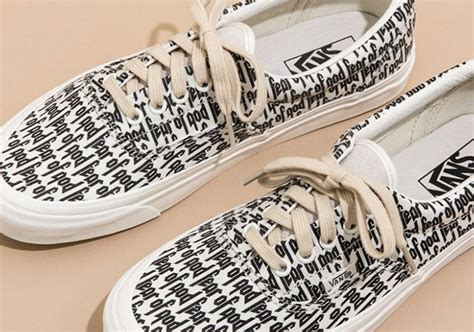Vans Giveaway 2017 - fear of god vans pacsun giveaway sneakernews com