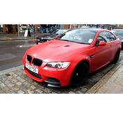 One Of 30 Matt Red BMW M3 Performance Edition Driving