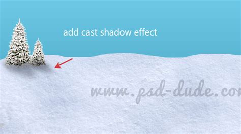 tutorial photoshop winter white christmas winter landscape photoshop tutorial