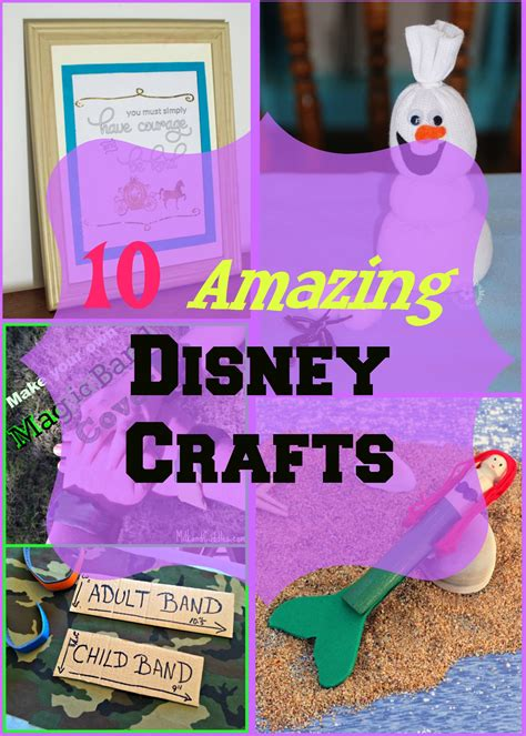disney crafts for 10 amazing disney crafts house of fauci s