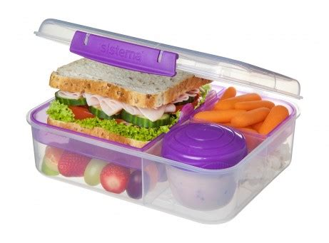 sistema bento lunch to go 1 65l chef s complements