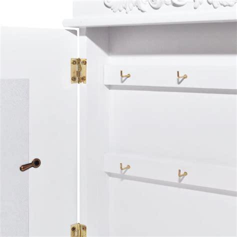 armadietto con chiave armadietto a chiave con cornice bianco vidaxl it