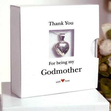 awesome godparents sterling silver godmother necklace a wonderful thank you gift for a special godmother