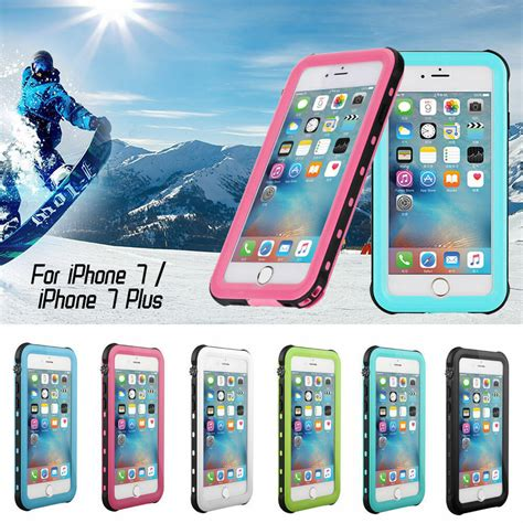 waterproof for iphone 7 7 plus ultra thin dust proof snowproof shockproof ebay
