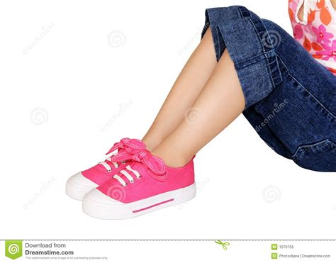 play clothes and shoes royalty free stock