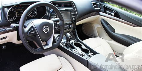 nissan maxima 2016 interior 2016 nissan maxima review the automotive review