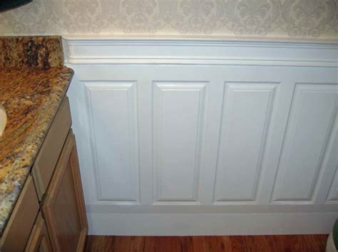 Raised Panel Wainscoting Lowes by Walls Raised Panel Wainscoting With Countertop Raised