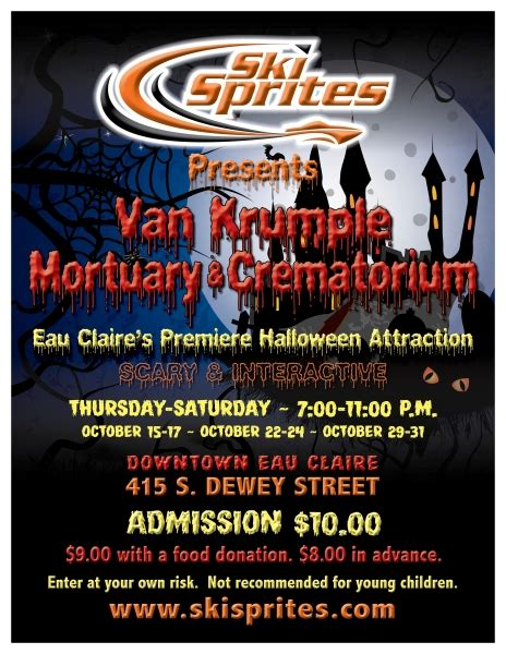 downtown haunted house downtown eau claire wisconsin haunted house coming to downtown