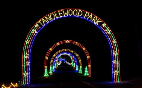 places to see christmas lights in nc the best christmas light displays in every state travel