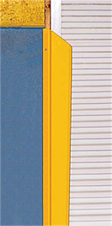 Overhead Door Track Guards Dock Door Track Protectors Overhead Door Frame Guards Steel Shipping Door Shields