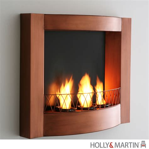 martin hallston wall mount fireplace